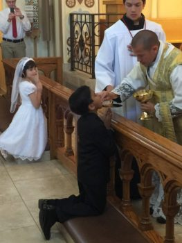 Sacraments at Mater Misericordiae