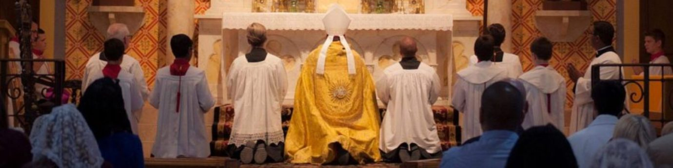 Mass, Confession, Devotions